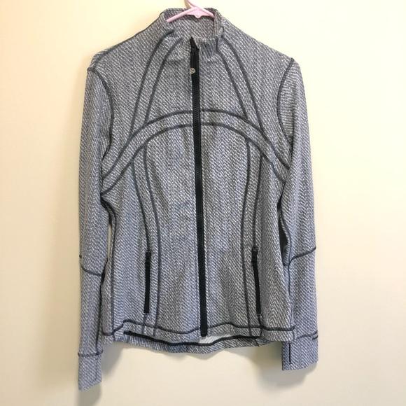 lululemon athletica Jackets & Blazers - HP ✨ Lululemon   Grey Zip-up, size 12